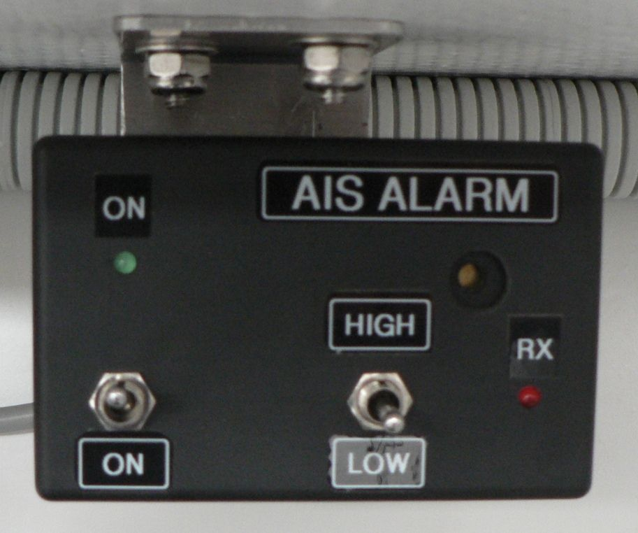Low-Power RS-232 AIS Alarm for Offshore Watch