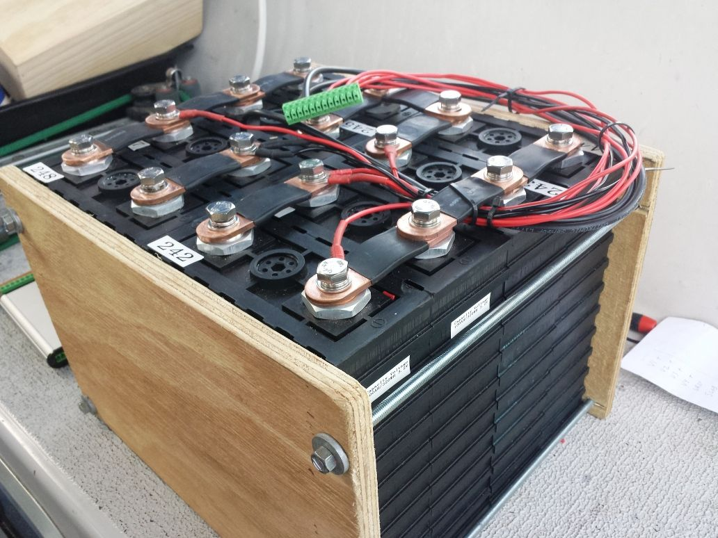 200Ah LFP battery pack for a marine application