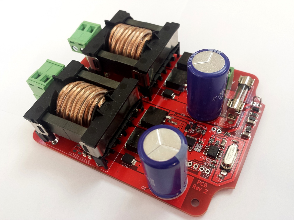 New dual-channel ultrasonic antifouling driver board