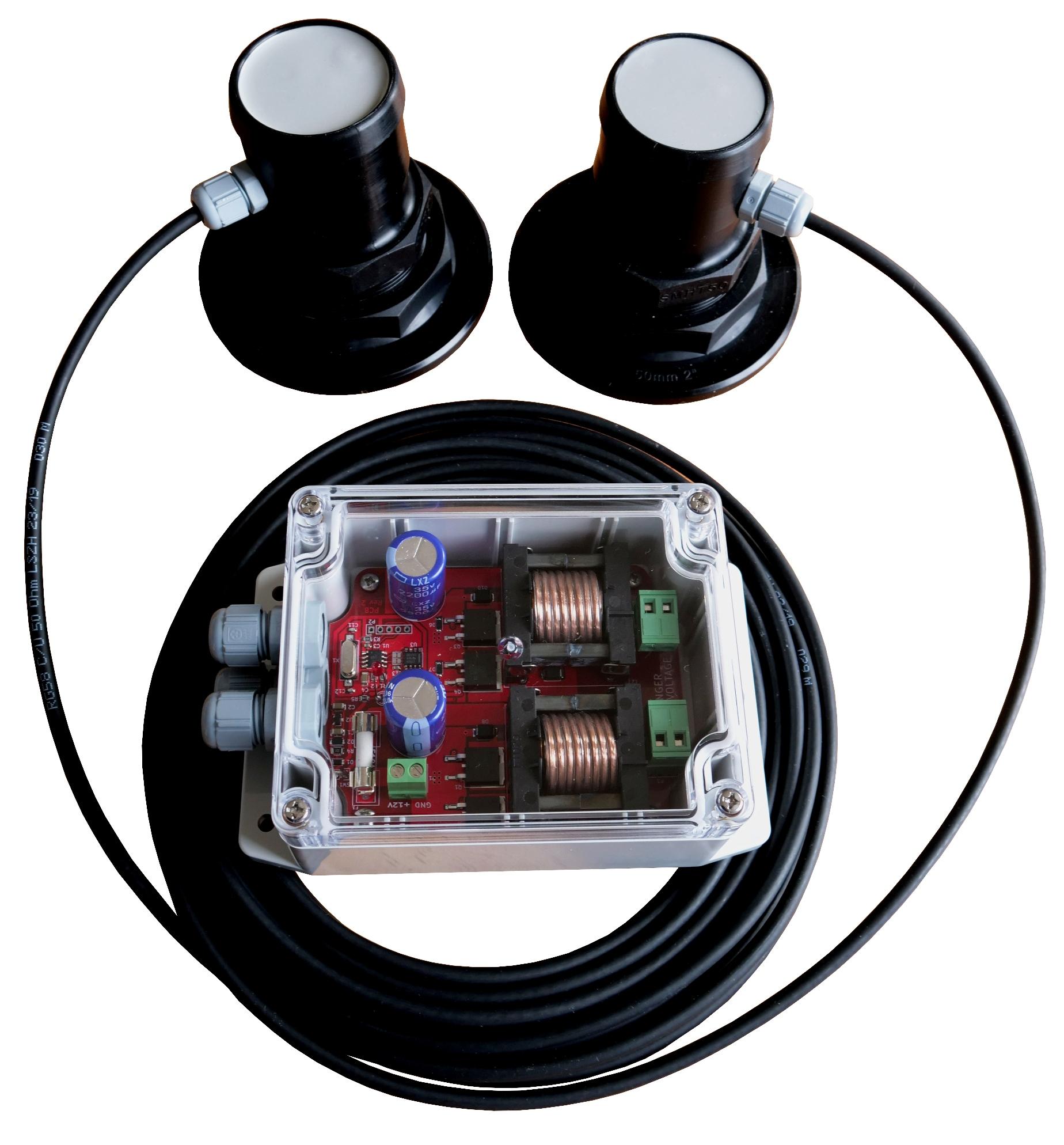 ND-ULTRA Twin Transducer Ultrasonic Antifouling System