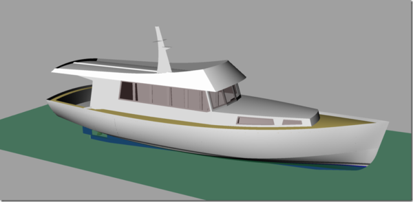 Wild South 42 CAD rendering