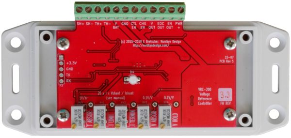 VRC-200 Charge Reference Controller Rev5 - Internal, Plan