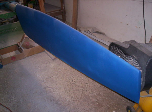 Nordkyn Appendages 59 - Finished rudder