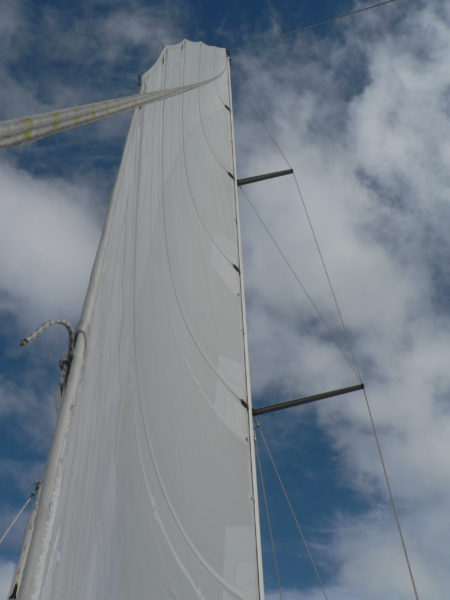Nordkyn Completion 106 - Mainsail from clew