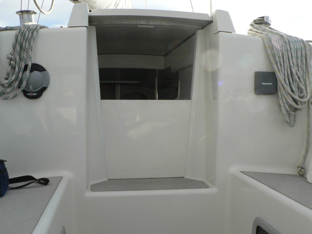 Nordkyn Completion 109 - Companionway entrance