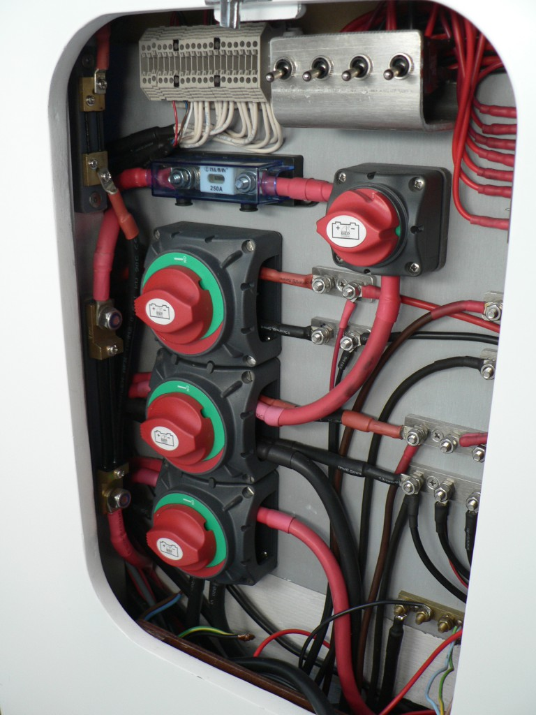 Nordkyn Engineering 92C - Distribution panel