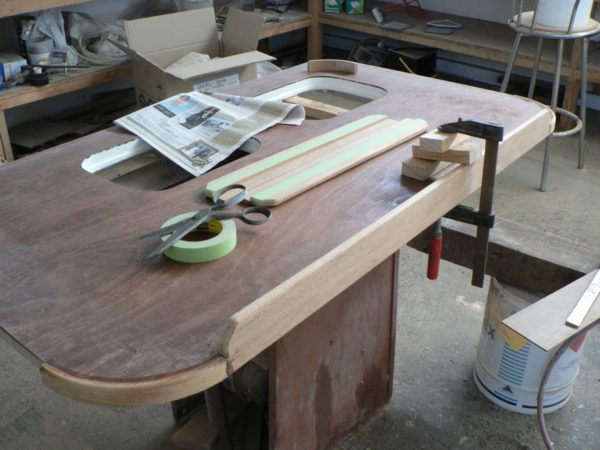 Nordkyn Interior Construction 82 - Saloon table top