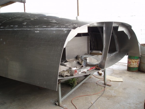 Nordkyn Shell Construction 10 - Transom open
