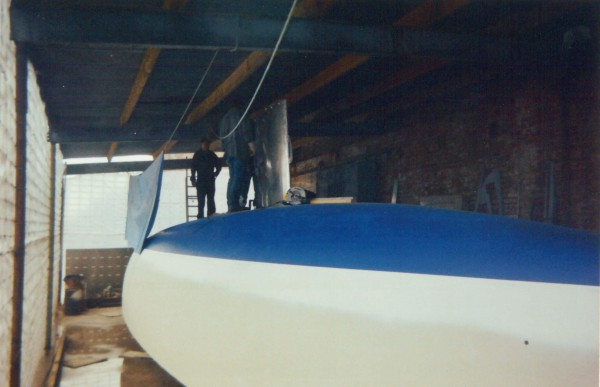 Nordkyn Shell Construction 10B - Fitting the keel - Peter McKenzie & Alan Broomhall